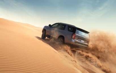 The Newly Launched Chevrolet Tahoe Z71 Turns Mountains into Molehills