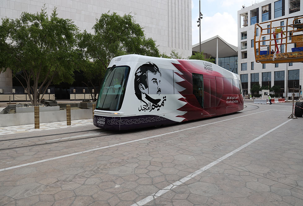 Msheireb Launches Tram Operation